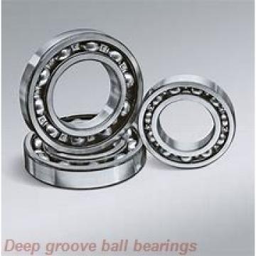 10 mm x 26 mm x 8 mm  skf W 6000-2RS1 Deep groove ball bearings