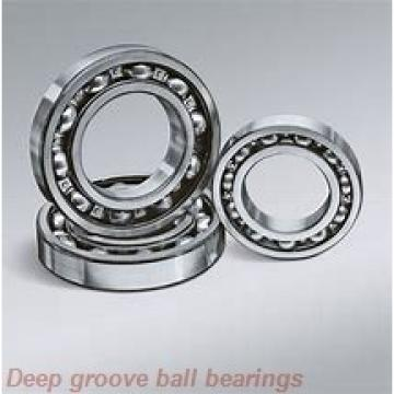 6 mm x 15 mm x 5 mm  skf W 619/6-2RS1 Deep groove ball bearings