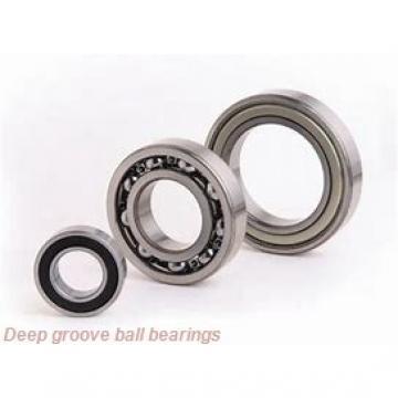 90 mm x 190 mm x 43 mm  skf 6318-2Z Deep groove ball bearings