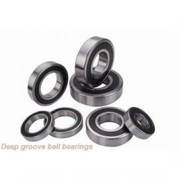 2.5 mm x 8 mm x 2.8 mm  skf W 60/2.5 Deep groove ball bearings