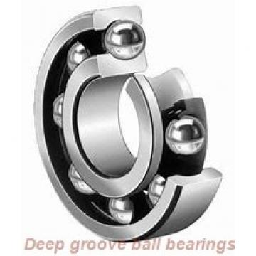 12.7 mm x 28.575 mm x 7.938 mm  skf D/W R8 R-2RZ Deep groove ball bearings