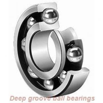 30 mm x 72 mm x 19 mm  skf W 6306 Deep groove ball bearings