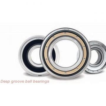 80 mm x 170 mm x 39 mm  skf 6316-Z Deep groove ball bearings