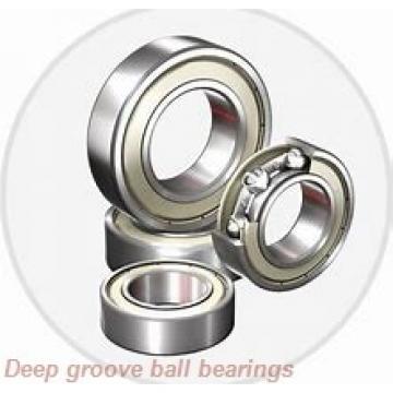 9 mm x 20 mm x 6 mm  skf W 619/9 R-2Z Deep groove ball bearings