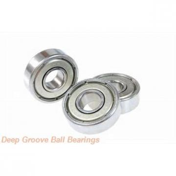 timken 6317-RS Deep Groove Ball Bearings (6000, 6200, 6300, 6400)