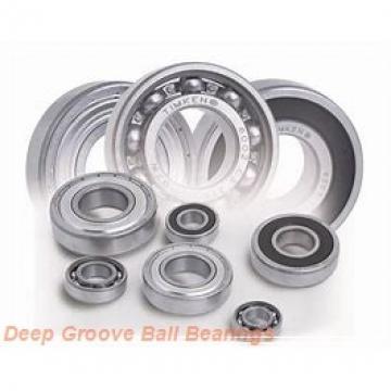 timken 6317-RS-C3 Deep Groove Ball Bearings (6000, 6200, 6300, 6400)